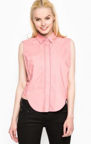 Розовая рубашка без рукавов Mexx. Цвет: розовый