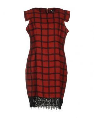 Короткое платье CUTIE. Цвет: кирпично-красный