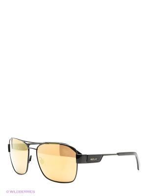 Солнцезащитные очки Replay. Цвет: черный