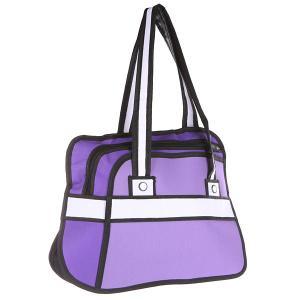 Сумка женская  2D Purple Style Purple/Black Jump from paper. Цвет: фиолетовый,черный