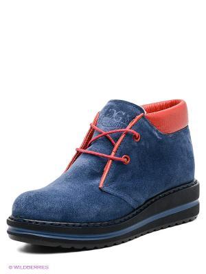 Ботинки Grand Gudini. Цвет: синий, красный