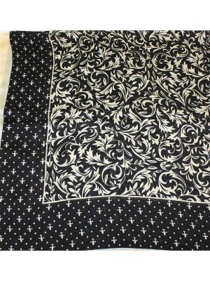 Платок Dolci Capricci. Цвет: черный, бежевый