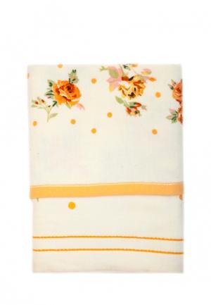 Комплект полотенец 2 шт. La Pastel. Цвет: желтый