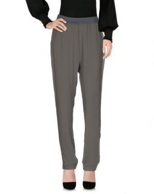 Повседневные брюки MANILA GRACE. Цвет: зеленый-милитари