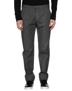 Повседневные брюки COVER. Цвет: свинцово-серый