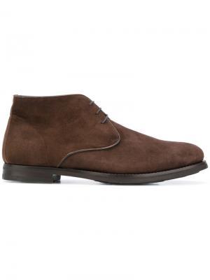 Classic desert boots Andrea Ventura. Цвет: коричневый