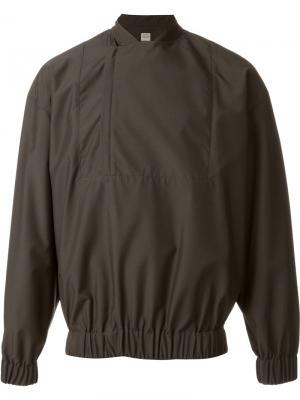 Спортивная куртка E. Tautz. Цвет: коричневый