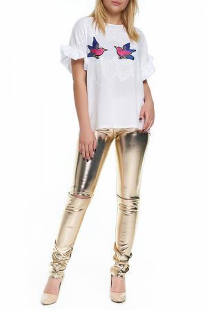 Блуза Majaly. Цвет: белый