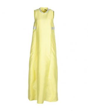 Длинное платье LA CAMICIA BIANCA. Цвет: желтый