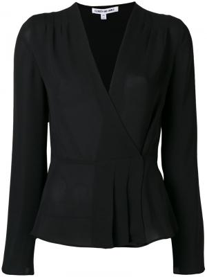 Блузка Layla с запахом Elizabeth And James. Цвет: чёрный