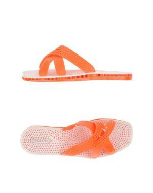 Сандалии SENSI. Цвет: оранжевый