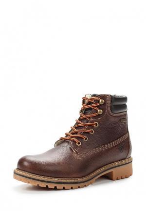 Ботинки Tamaris. Цвет: коричневый