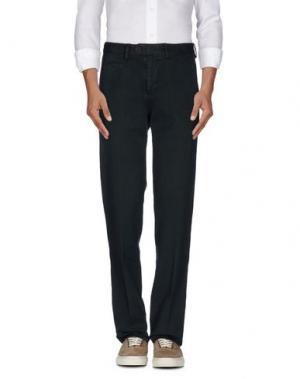 Повседневные брюки COTTON BELT. Цвет: темно-зеленый