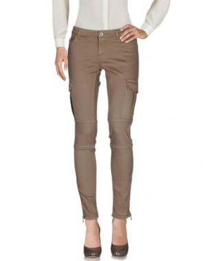 Повседневные брюки BRIAN DALES. Цвет: хаки