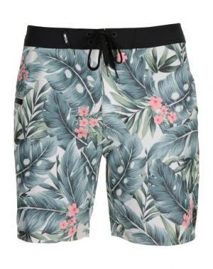 Пляжные брюки и шорты RIPCURL. Цвет: зеленый