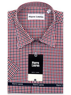 Рубашка Pierre Lauren. Цвет: красный