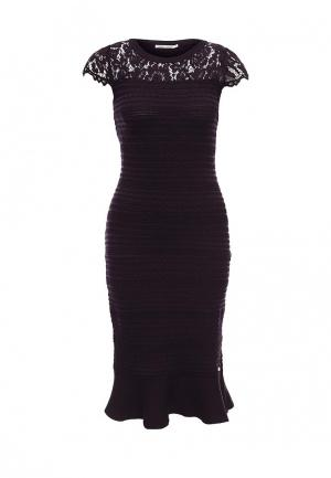 Платье Zarina. Цвет: фиолетовый