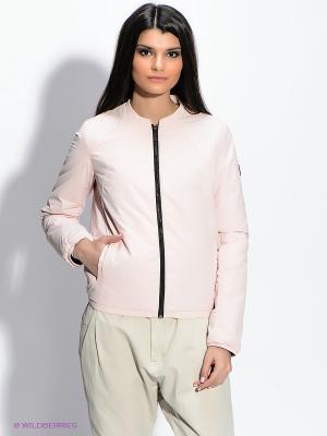 Куртка Calvin Klein. Цвет: бледно-розовый