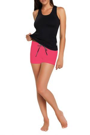 Спортивные шорты GWINNER. Цвет: розовый