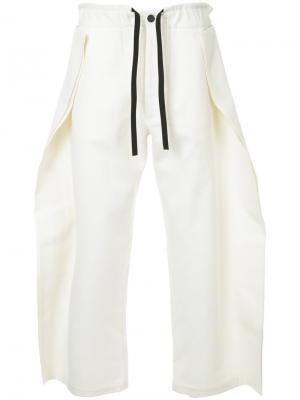 Спортивные брюки Finned Berthold. Цвет: белый