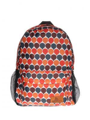 Рюкзак ПодЪполье. Цвет: красный, оранжевый, белый, серый