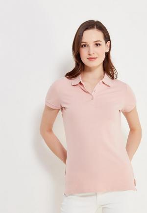 Поло Sela. Цвет: розовый