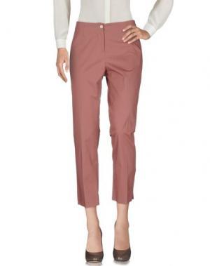 Повседневные брюки QL2 QUELLEDUE. Цвет: пастельно-розовый