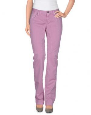 Повседневные брюки HISTORIC RESEARCH. Цвет: розовый