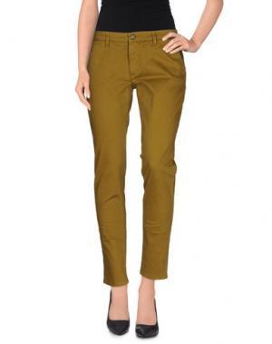 Повседневные брюки STUDS WAR. Цвет: зеленый-милитари