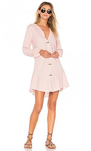 Женская сорочка steph Vix Swimwear. Цвет: розовый