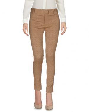 Повседневные брюки PAULIE. Цвет: верблюжий