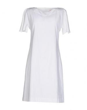 Короткое платье JUST IN CASE. Цвет: белый