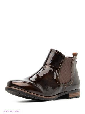 Ботинки Jana. Цвет: коричневый