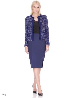 Куртка LIU JO. Цвет: темно-синий