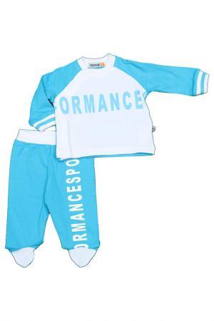 Комплект Bonnie Baby. Цвет: голубой