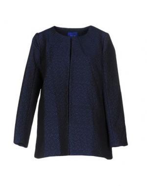 Легкое пальто ANONYME DESIGNERS. Цвет: темно-синий