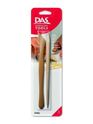 Das wooden cutters деревянные стеки 2 шт. FILA. Цвет: бежевый, красный, белый