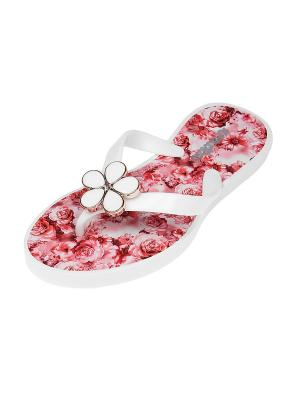 Пантолеты Migura. Цвет: белый, розовый