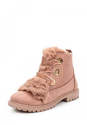 Ботинки WS Shoes. Цвет: розовый