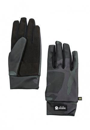 Перчатки Burton. Цвет: зеленый