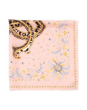 Платок ROBERTO CAVALLI. Цвет: светло-розовый