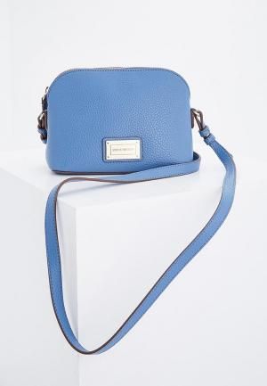 Сумка Emporio Armani. Цвет: голубой