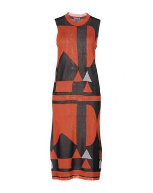 Платье до колена ARTHUR ARBESSER. Цвет: оранжевый