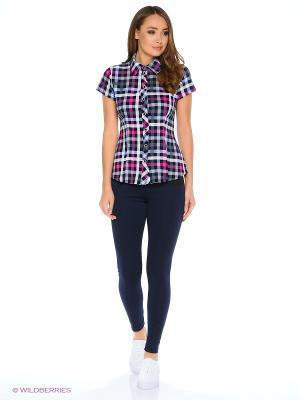 Рубашка HomeLike. Цвет: серый