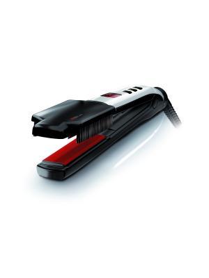 Выпрямитель SWISSX - SUPER Brush & Shine Set с щеткой (6/108), черный Valera. Цвет: черный, красный