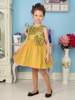 Платье Sweet Berry. Цвет: золотистый