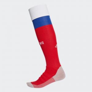 Домашние игровые гетры сборной России  Performance adidas. Цвет: красный