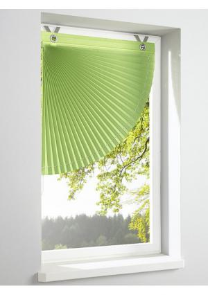 Римская штора Heine Home. Цвет: зеленый, оранжевый