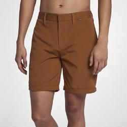 Мужские шорты Hurley Byron Short 45,5 см Nike. Цвет: коричневый