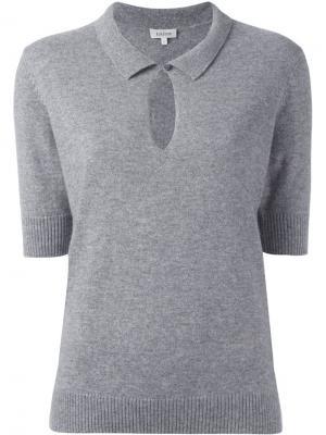 Укороченный свитер Toteme. Цвет: серый